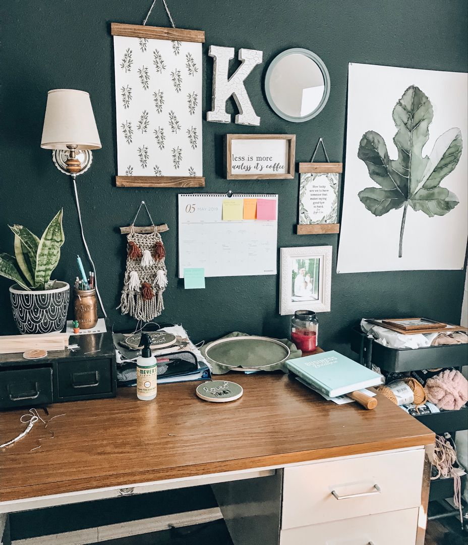 Plant Inspired Office Decor (With Images)