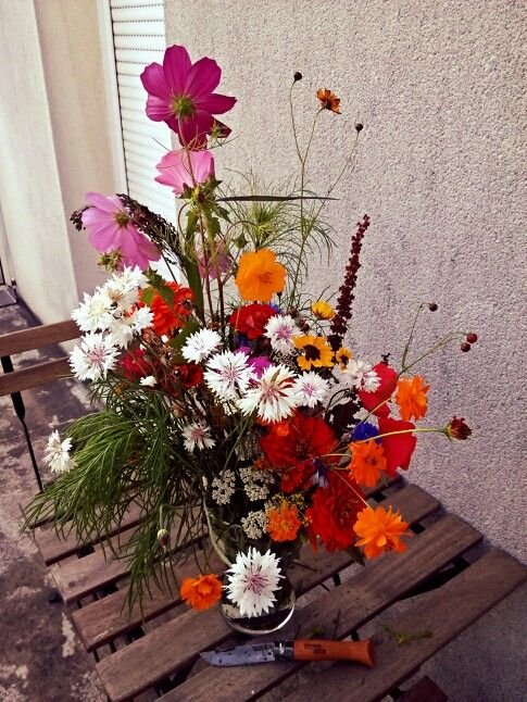 Let's just have some wild flowers, Darling...