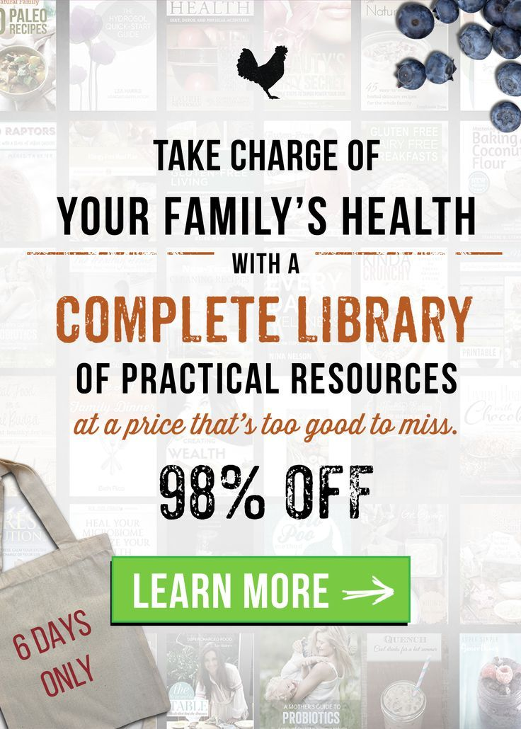 Take charge of the health of your family with this bundle of resources valued at over $2400.