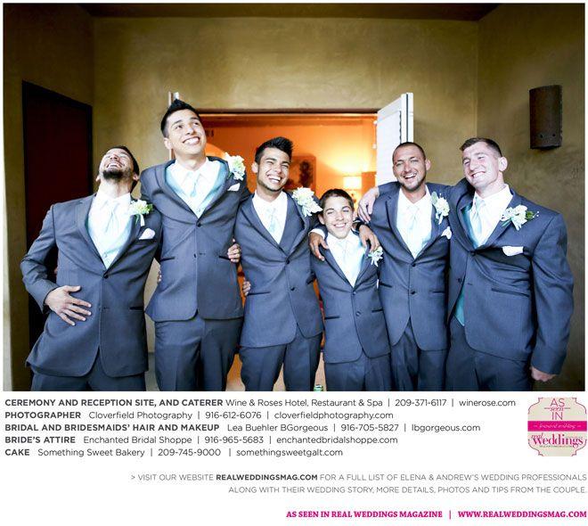 Sacramento Wedding Inspiration: Elena & Andrew {from The