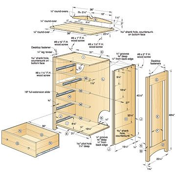 Woodworking Dresser Design Plans PDF download Dresser design plans