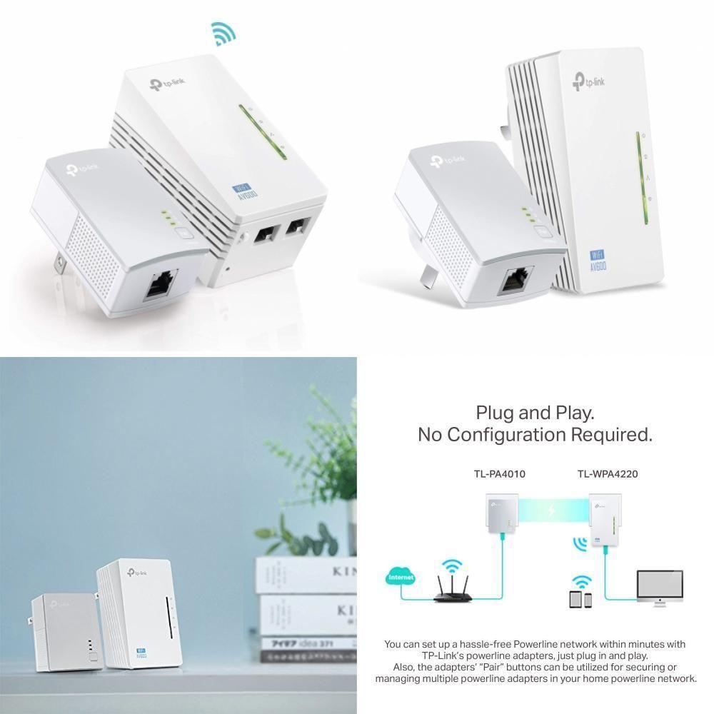 eBay #Sponsored TP-Link AV600 Powerline WiFi Extender