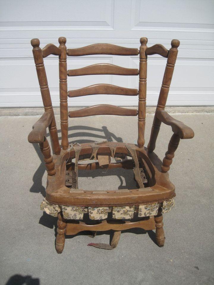 size 40 1b077 513c2 Old Spring Rocker Platform Rocking Chair Original Tag Dated ...
