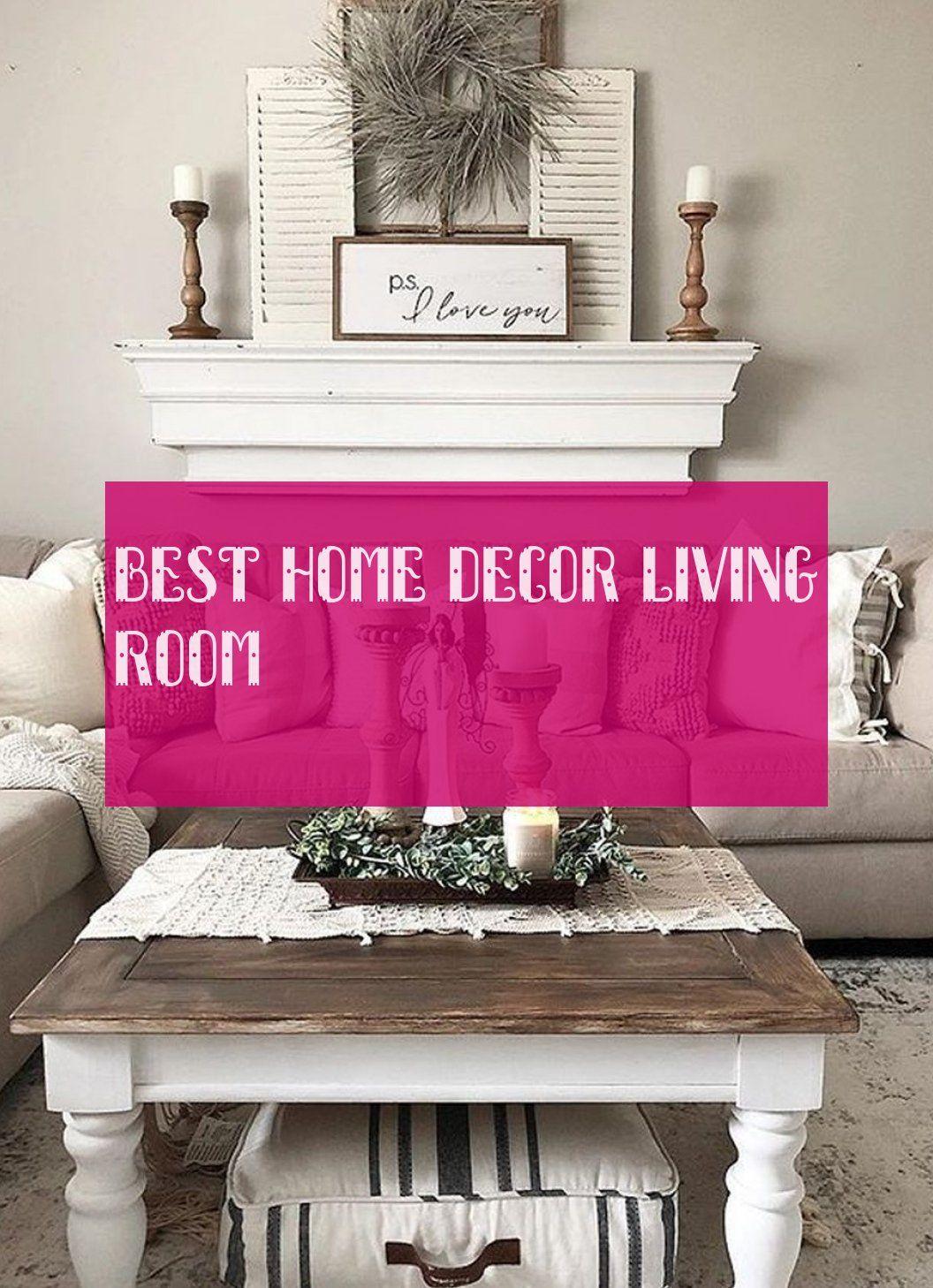 best home decor living room