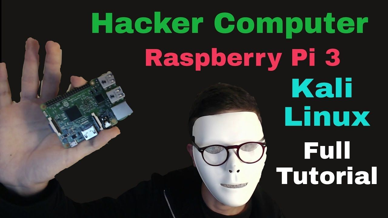 Build Your Own Hacker Computer with Raspberry Pi 3