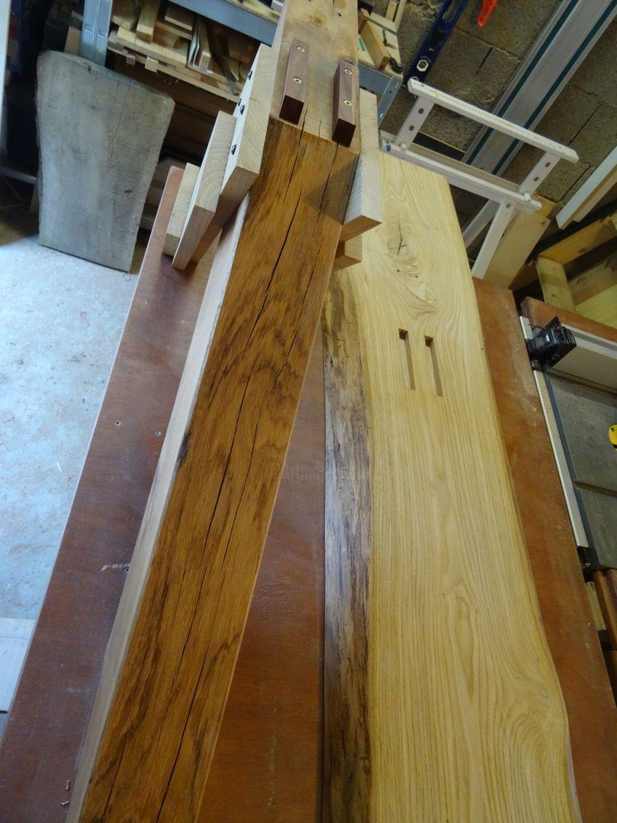 Artisanat Par Thomas Chatain France Artmajeur Tables Basses Rustiques Bois Massif Table Basse