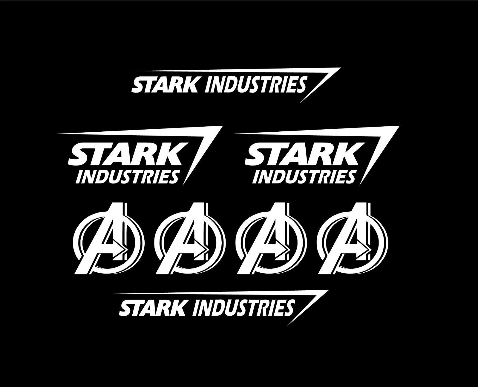 Set Of 8 Stark Industries Iron Man Avengers Marvel Vinyl Car Decal Sticker Ebay In 2021 Stark Industries Car Decals Vinyl Iron Man [ 1293 x 1600 Pixel ]