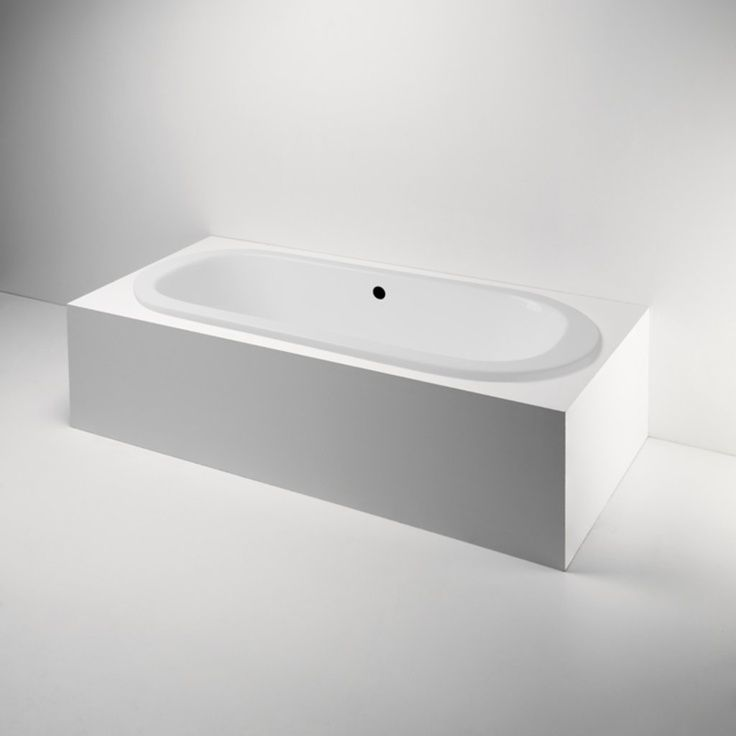 Cast Iron Drop in Tub | Drop In / Undermount Oval Cast Iron Bathtub ...