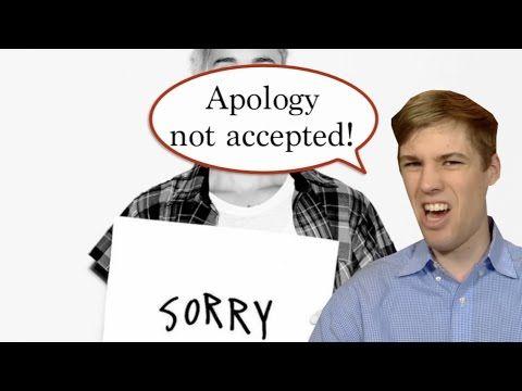Stop Saying Sorry http://youtu.be/U55Xbn98Gz0