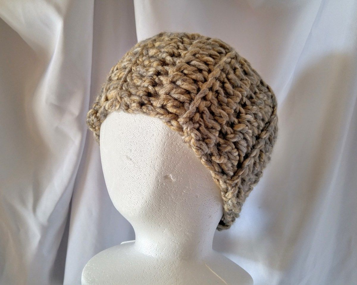 Tan and olive chunky ear warmer crochet headband ear muff head tan and olive chunky ear warmer crochet headband ear muff head wrap winter head scarf unisex bankloansurffo Image collections
