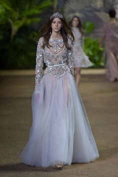 Elie Saab Spring 2016 Couture Photo by GIovanni Giannoni