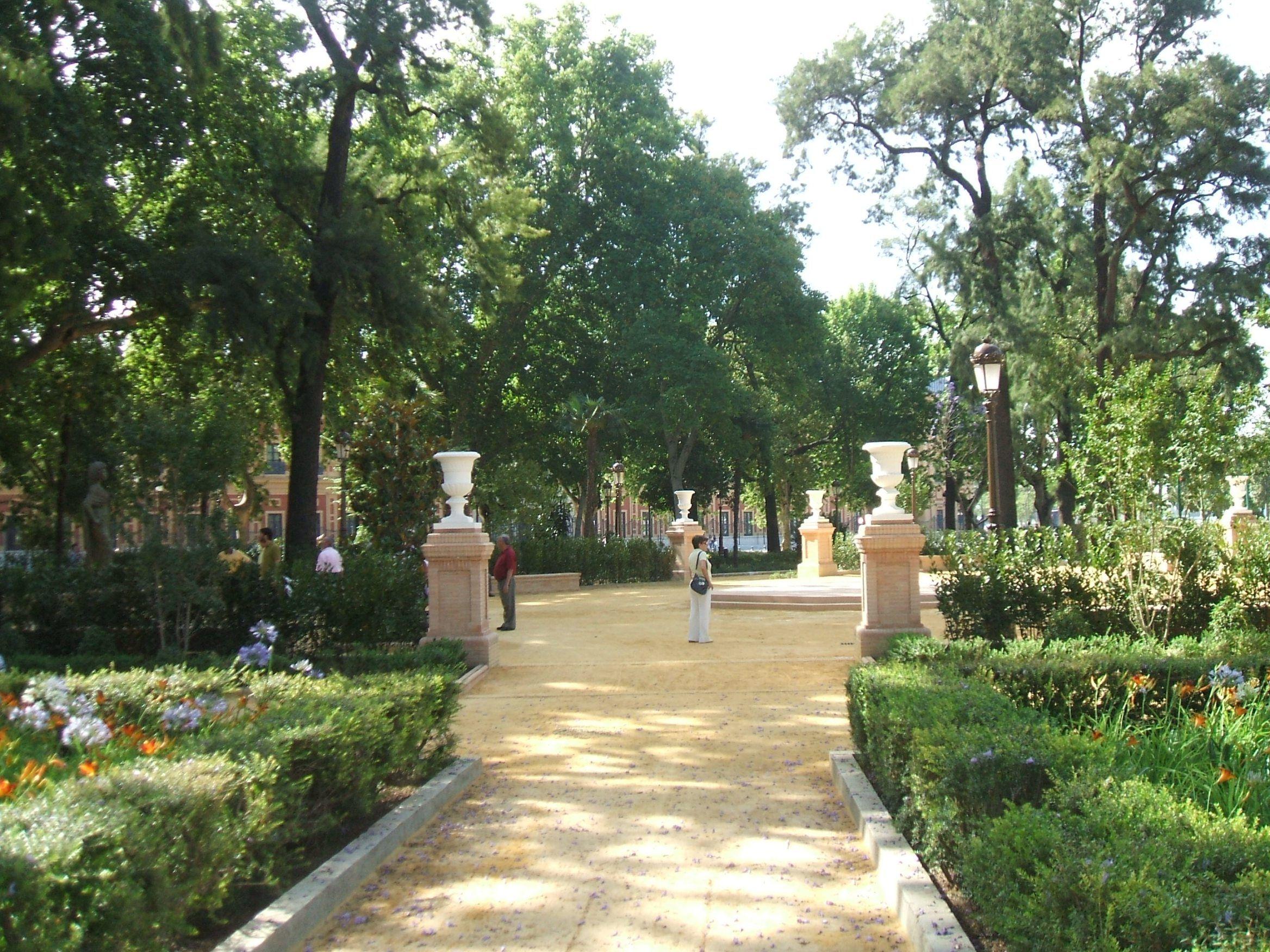 Jardines del cristina sevilla nos encantaba de ni os - Jardines verticales sevilla ...