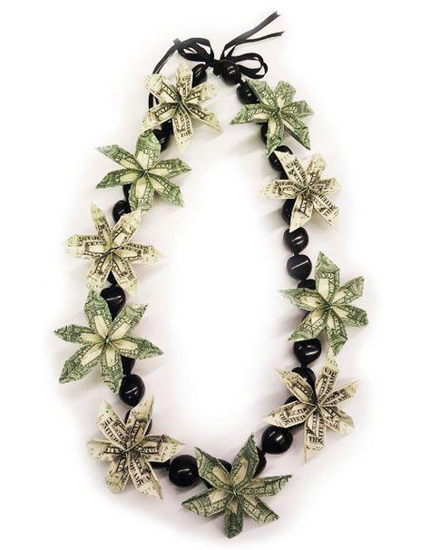 Hawaiian Money Lei : hawaiian, money, Fresh, Hawaiian, Orchid, Loose, Blooms, Graduation, Money,, Money