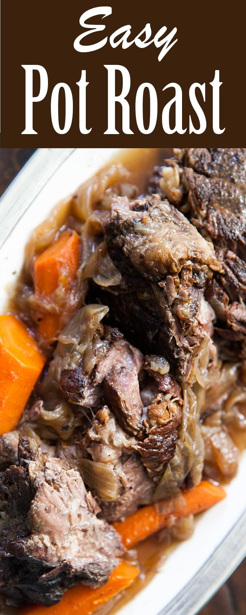 What is a recipe using chuck roast cooked in the oven?