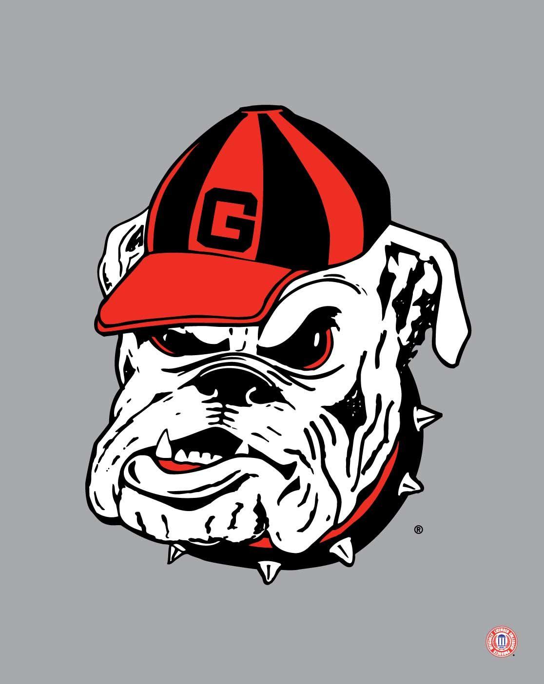 georgia bulldogs mascot logo georgia bulldogs