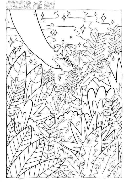 Thesadghostclub Cool Coloring Pages Printable Art Therapy Mandala Coloring Pages