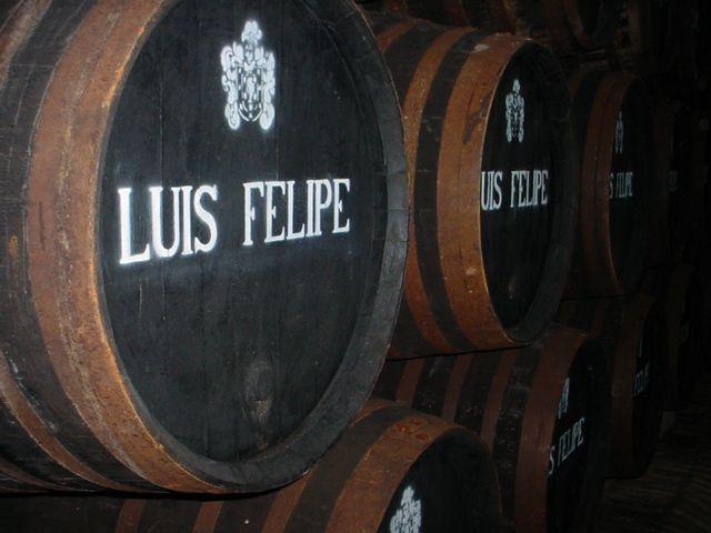 Brandy Luis Felipe De Las Bodegas Rubio En La Palma Del Condado Huelva Brandy Luis Felipe From Bodegas Rubio In La Palma Del Con Bodegas Luis Felipe Uvas