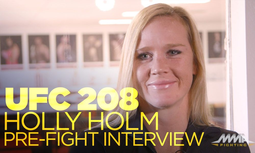 Holly Holm was 'worried' about Ronda Rousey's 'mental game' going into UFC 207