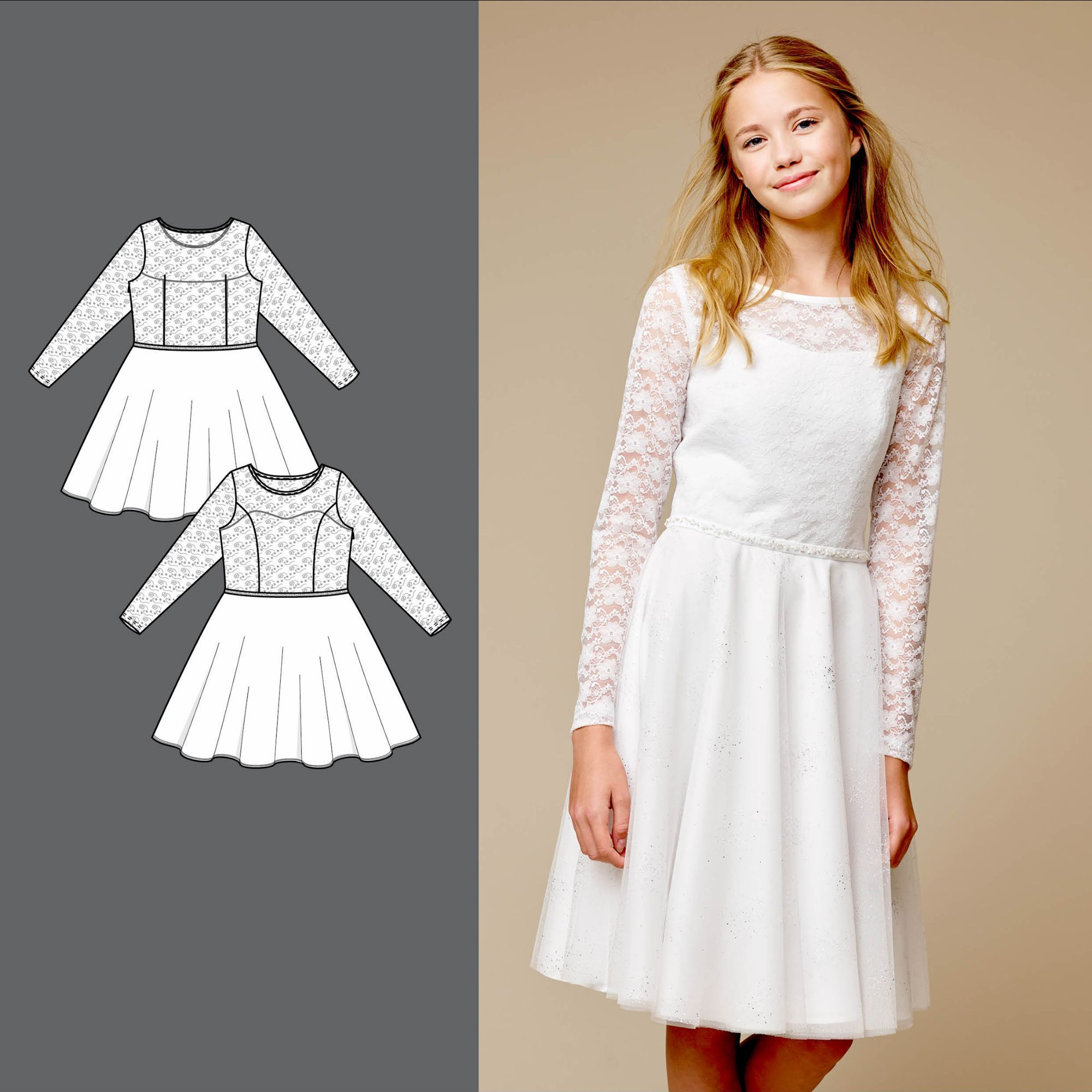 Confirmation dress - Stoff & Stil #confirmationdresses Confirmation dress - Stoff & Stil #confirmationdresses