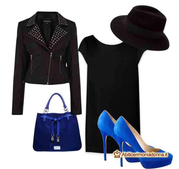 Come abbinare scarpe Decolté blu elettrico  consigli e abbinamenti per  diversi look! 6bbade61c22