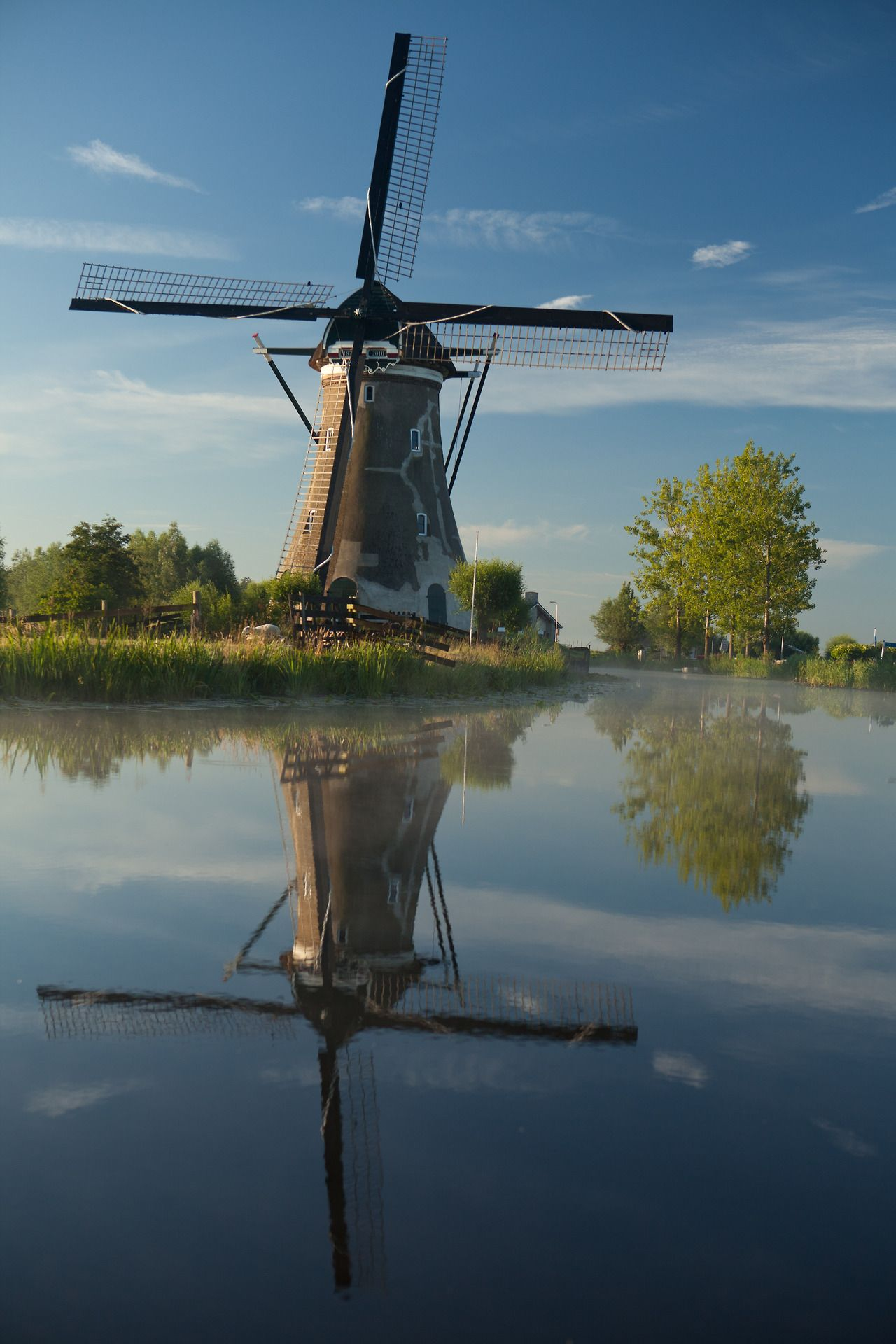 Dutch Windmill Haastrecht Zuid Holland Dutch Windmills Netherlands Windmills Holland Windmills