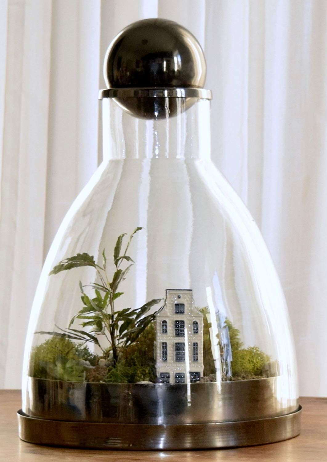 Amazonsmile H Potter Large Glass Terrarium Container With Brass