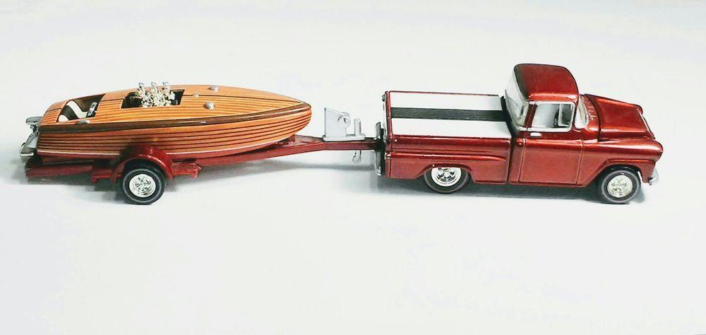 Hotwheels Smoke N Water 1959 Chevy Apache Fleetside Trailer