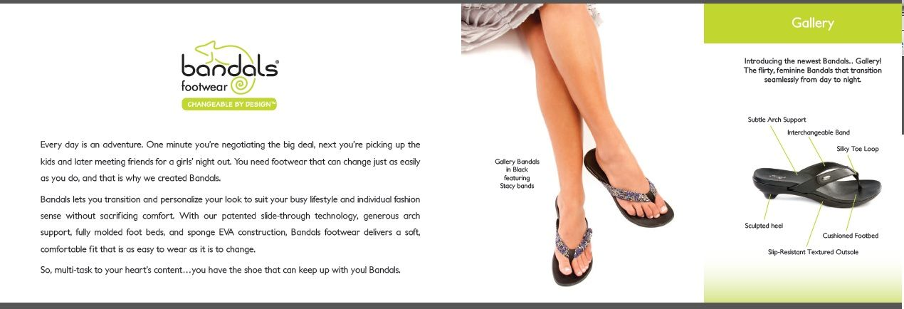 http://www.facebook.com/bandalssandalsnc cute flip flops and sandals. convertible and interchangeable shoes