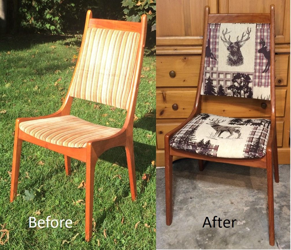 Before & After, A New Upholstery