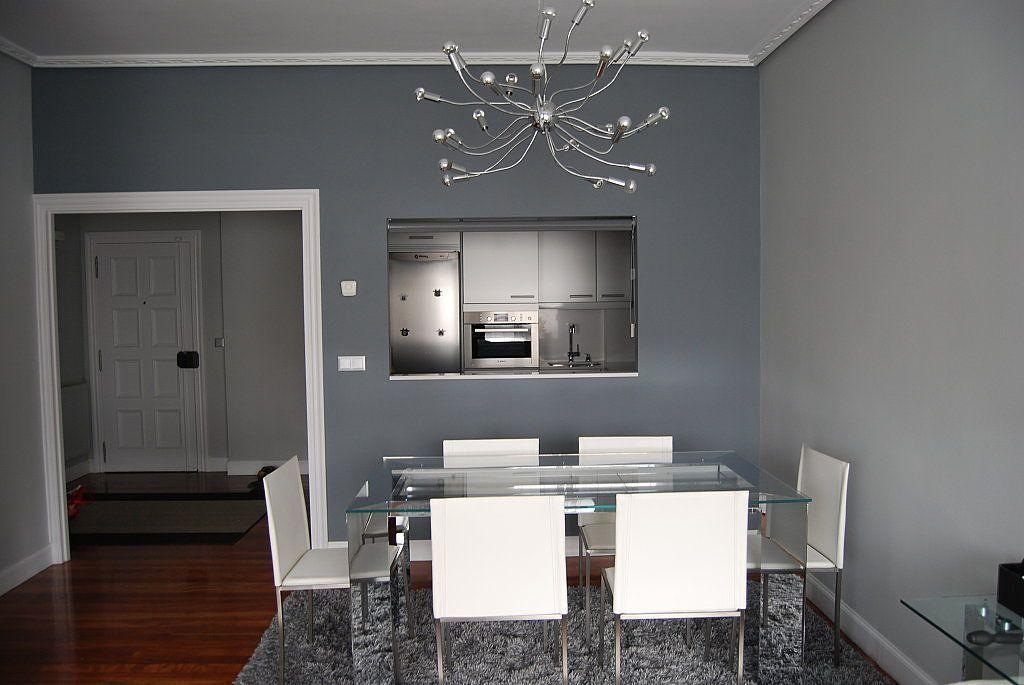 paredes tapizadas en gris - Buscar con Google | Mis espacios ...