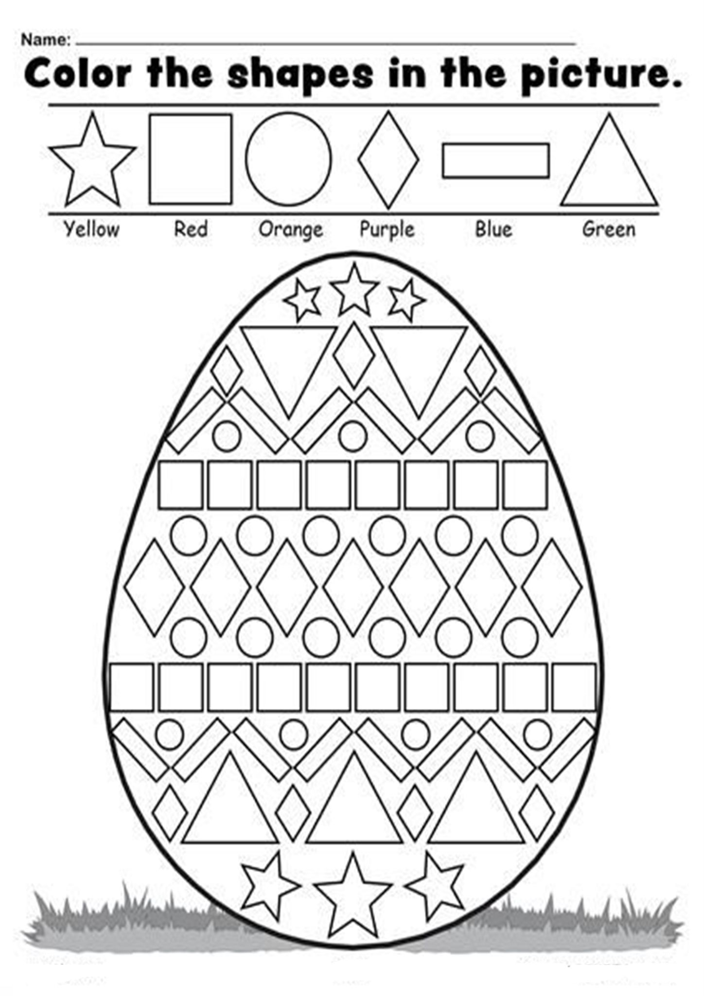 Free Printable Easter Worksheets For Little Ones In