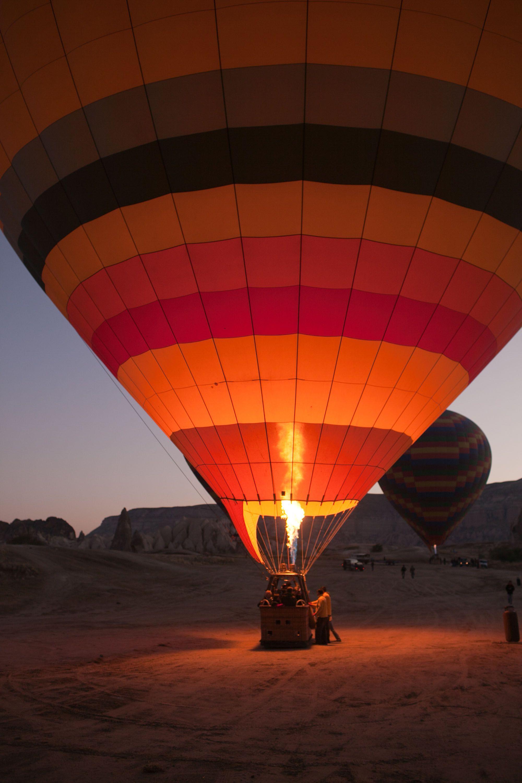 Life List 12 Ride on a hot air balloon. • Choosing Figs