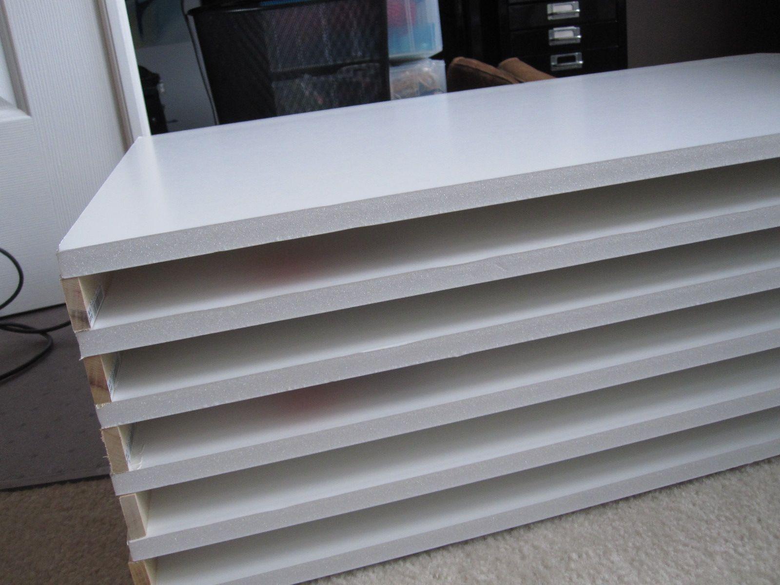 Flat Files Diy For 40 6 Sheets Of 1 2 Foam Core 20 30 10