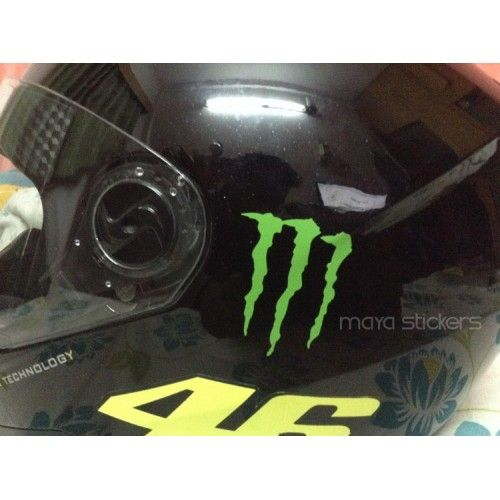 Monster Energy Logo Sticker Decal For Cars Bikes Laptop - Custom motorcycle helmet stickers and decalsbicycle helmet decals new ideas for you in bikes and cycle