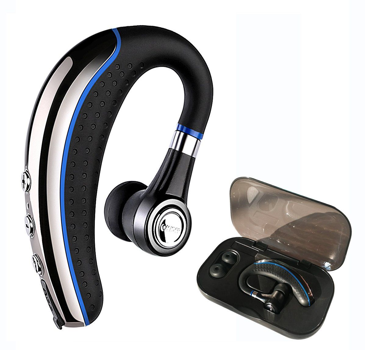 09882b56d9d Bluetooth Headset,Ansin A8 Wireless Stereo Earphones V4.1 Bluetooth  Headphones Lightweight Earpieces In