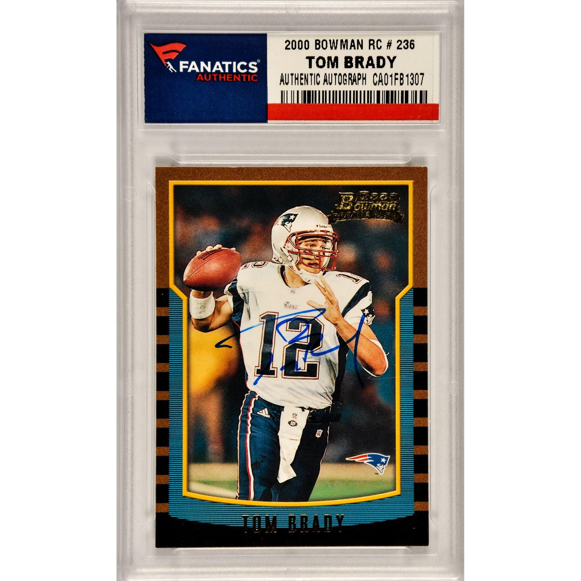 Fanatics Authentic Tom Brady New England Patriots