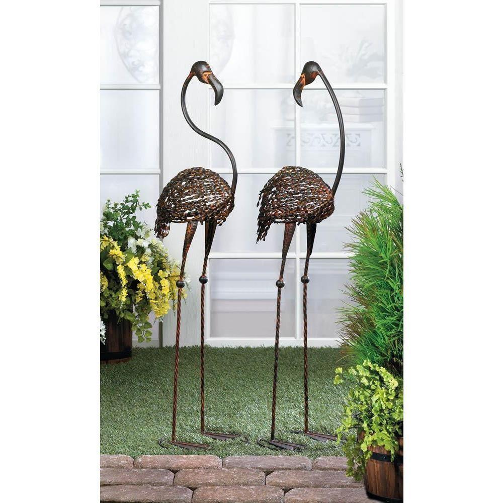 Park Art|My WordPress Blog_Metal Daylily Flower Garden Stakes
