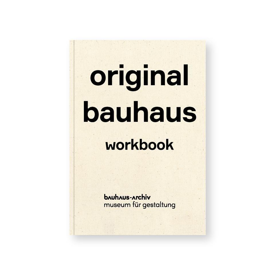 Original Bauhaus Workbook in 2020 | Bauhaus, Workbook
