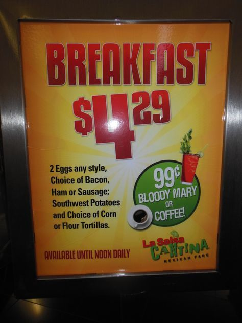 One Of The Best Breakfast Deals On Las Vegas Strip