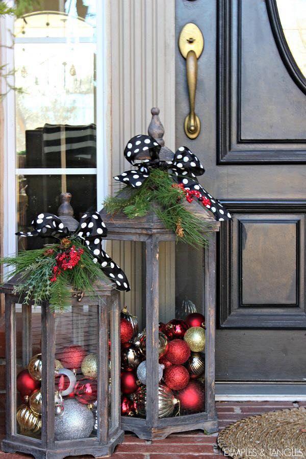 Ideas para navidad 2016 Navidad Pinterest Navidad, Decoracion - decoracion navidea para exteriores de casas
