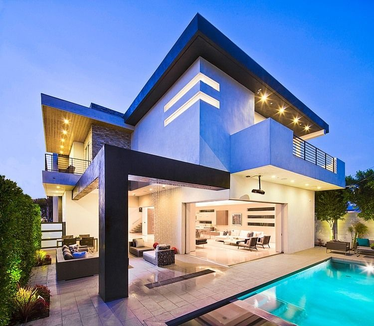Fleetwood Multi Slide Doors And Ceramic Floors Define Beautiful House Cool House Designs Beautiful House Images Architecture House