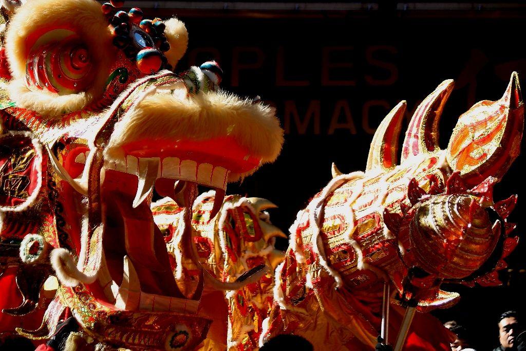 Alegría latina en desfile chino de NY Photo challenge