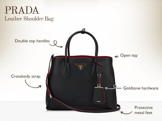 f4f528c30858 Prada Saffiano Cuir Double Bag Review | Stanford Center for ...