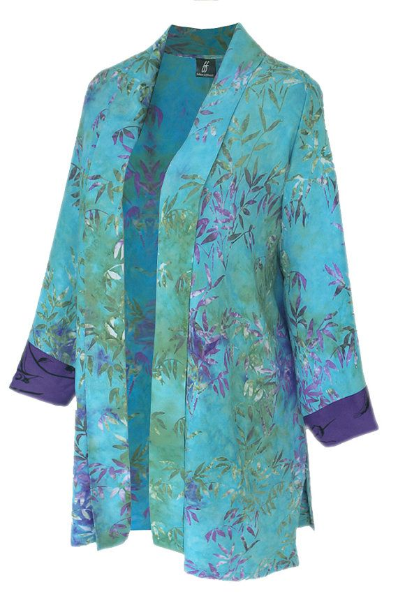 f340a9ae6d2 Oversized Kimono Cardigan for Women. Bit of a Lagenlook Plus Size Style.  One…