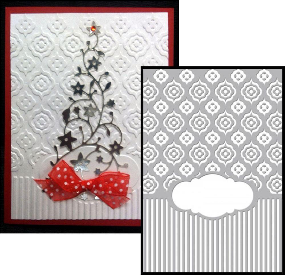 Dandiya Frame embossing folder Couture Creations embossing folders ...