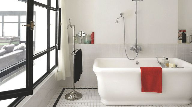 Revêtement salle de bains  carrelage, parquet, peinture, pvc
