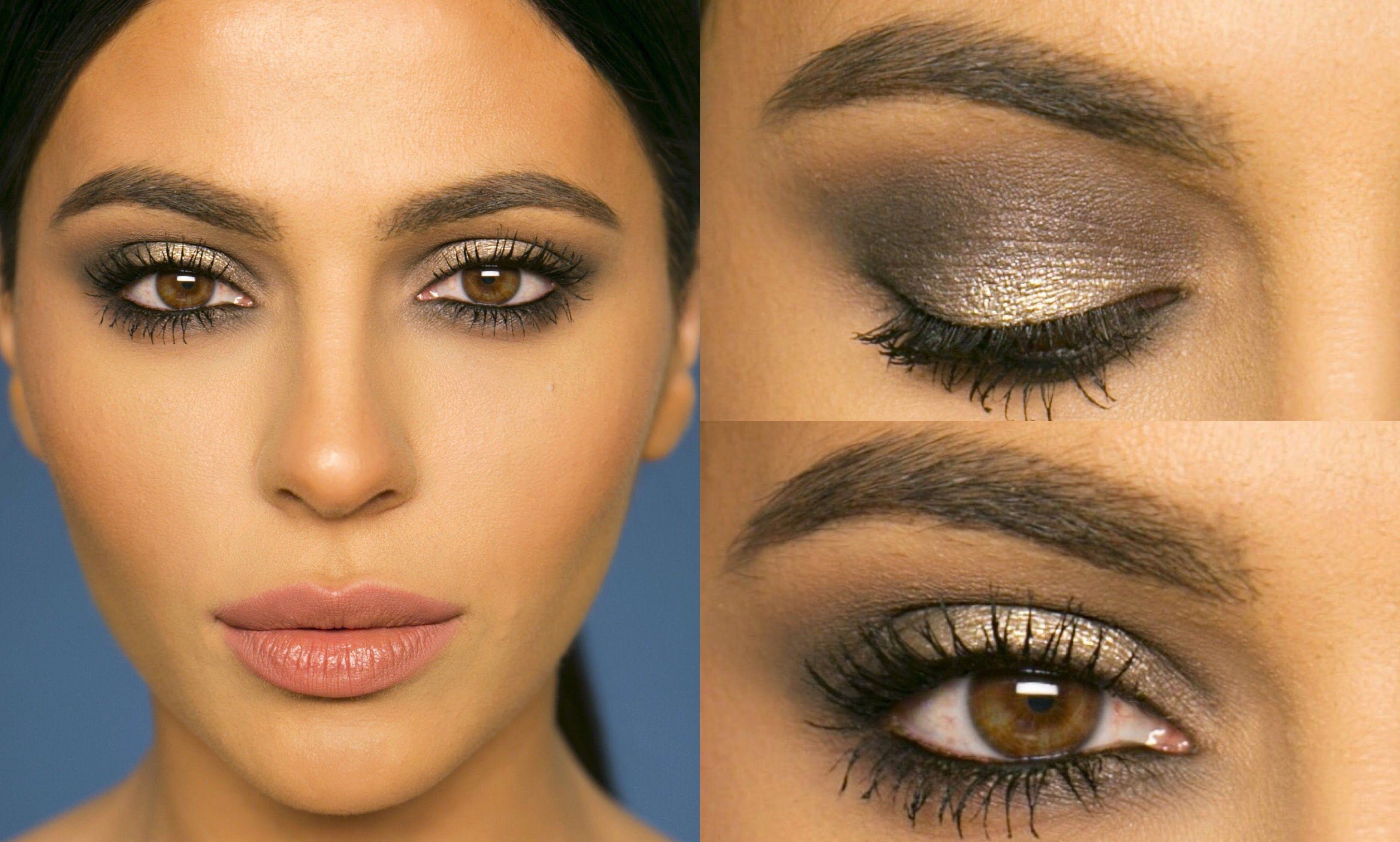subtle glitter for nye silver + grey smokey eye