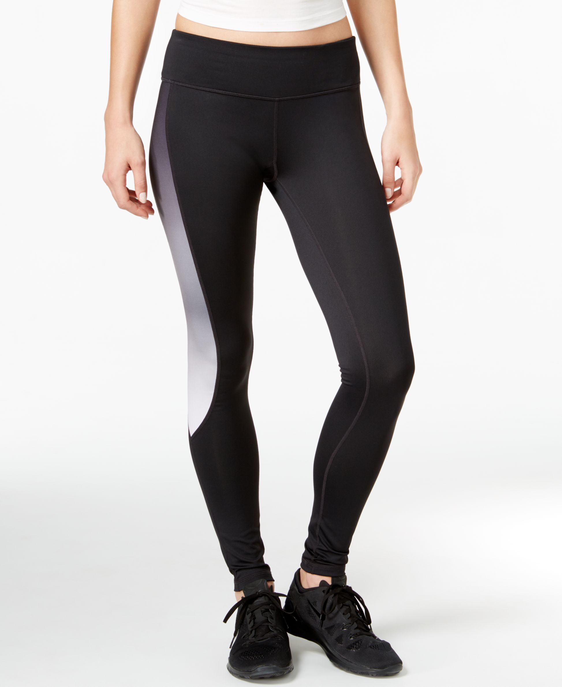 Ideology Colorblocked Training Leggings, Only at Macy's