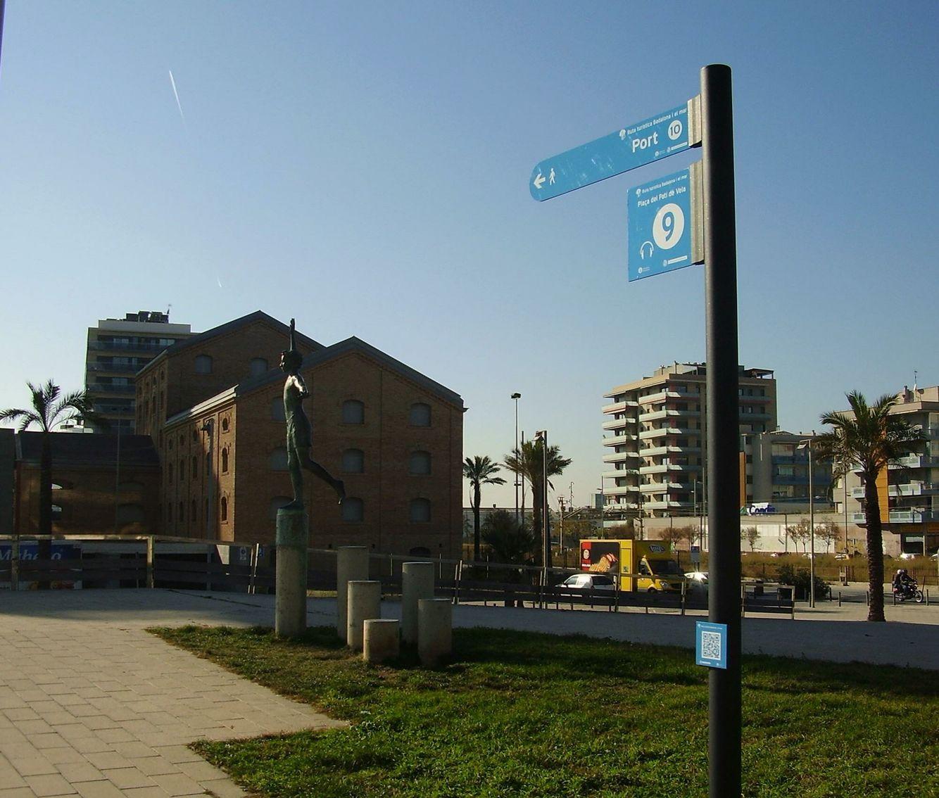 Plaça del Patí de Vela. Badalona