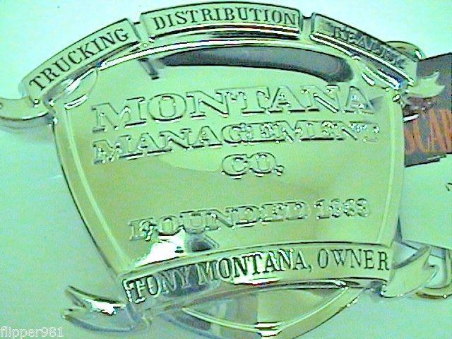 Scarface Belt Buckle Tony Montana Universalstudios Novelty